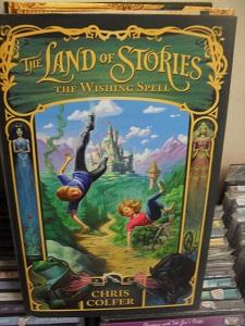 The Land of Stories . The Wishing Spell - Chris Colfer tuotekuva