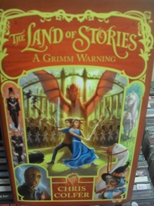 The Land of Stories - A Grimm warning - Chris Colfer tuotekuva