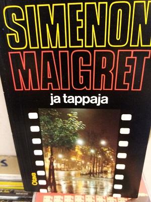 Maigret ja tappaja - Simenon Georges tuotekuva