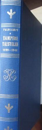 Tampere taistelee 1899-1944 - Palolampi E. tuotekuva