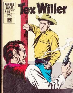 Tex Willer 9 / 1972 -  tuotekuva