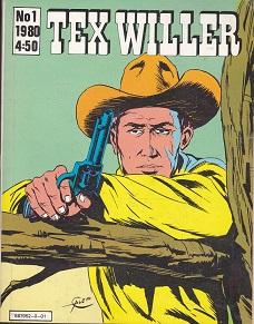 Tex Willer 1 / 1980 - Bonelli G. tuotekuva