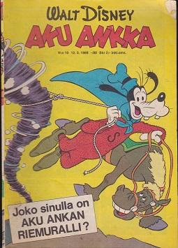 Aku Ankka N:o 10 1969 - Disney Walt tuotekuva