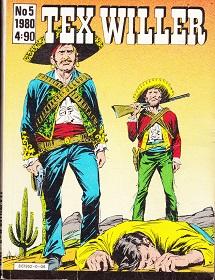 Tex Willer 5 / 1980 - Bonelli G. tuotekuva