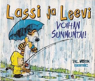 Lassi ja Leevi minialbumi 1 - Voihan sunnuntai! - Watterson Bill tuotekuva