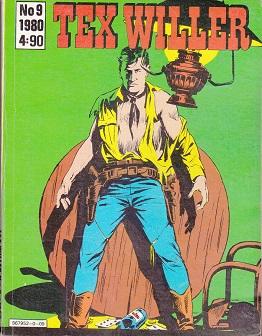 Tex Willer 9 / 1980 - Bonelli G. tuotekuva