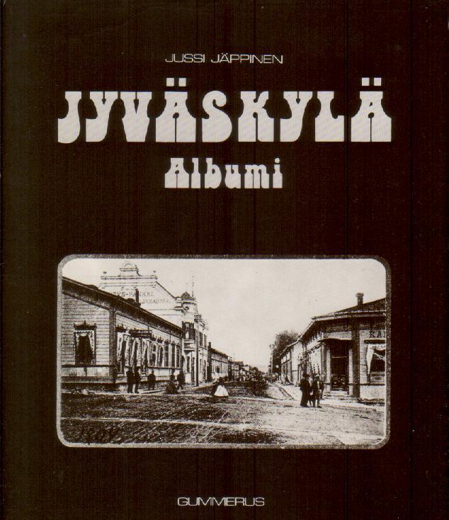 Jyväskylä albumi - Jäppinen Jussi tuotekuva