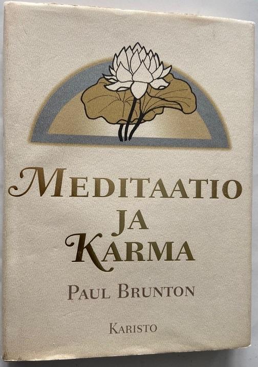Meditaatio ja karma - Brunton, Paul tuotekuva