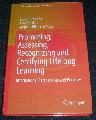 Promoting, Assessing, Recognizing and Certifying Lifelong Learning - Halttunen Timo, Koivisto Mari tuotekuva