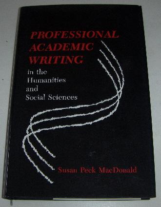 Professional academic writing - MacDonald Susan Peck tuotekuva