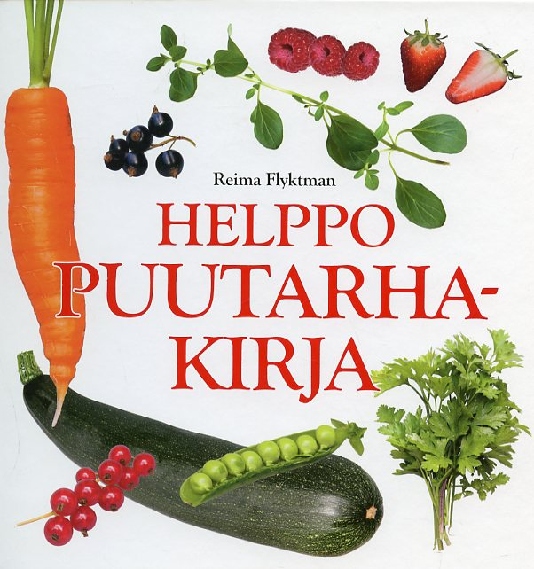 Helppo puutarhakirja - Flyktman Reima tuotekuva