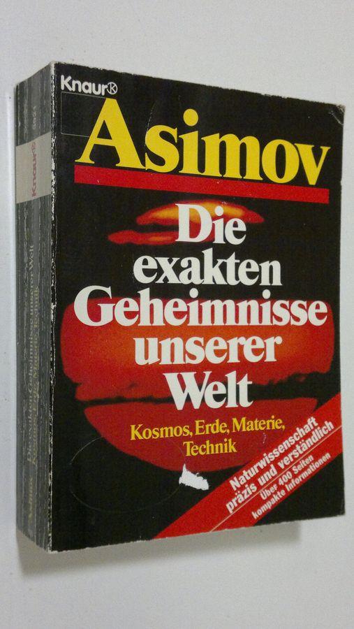 Kosmos, Erde, Materie, Technik - Asimov, Isaac tuotekuva