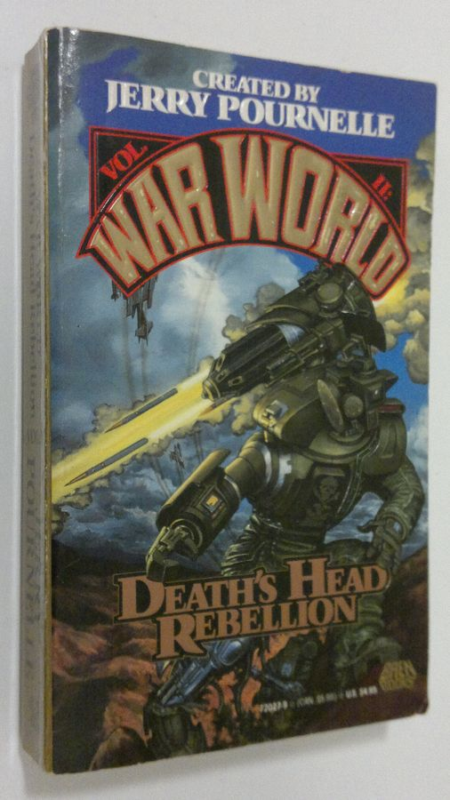 Death's Head Rebellion - Pournelle, Jerry tuotekuva
