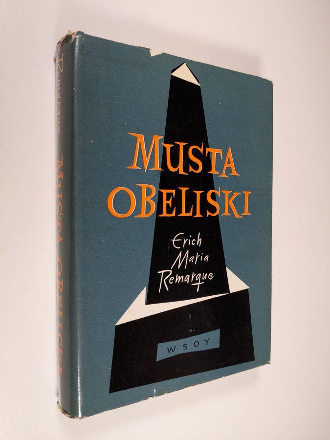 Musta obeliski - Remarque, Erich Maria tuotekuva