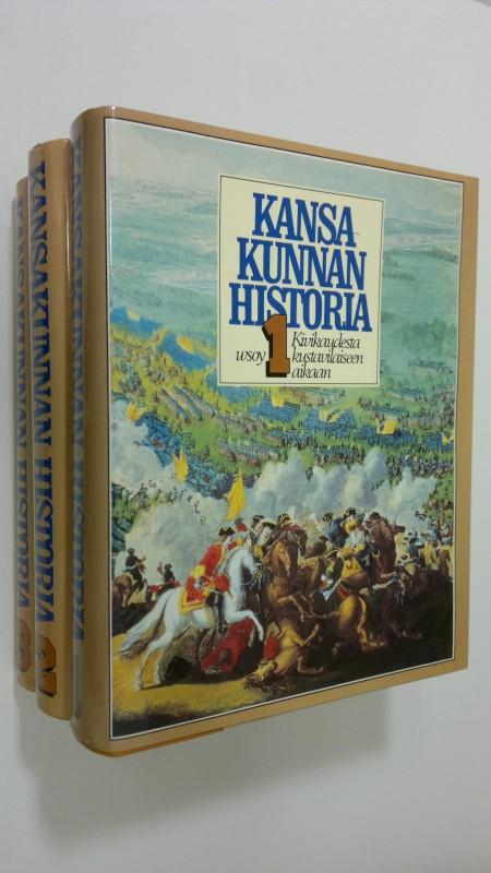 Kansakunnan historia 1-3 - Aalto, Teemu (kirj.) tuotekuva