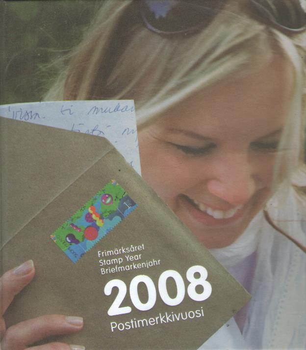 Postimerkkivuosi 2008 -  tuotekuva