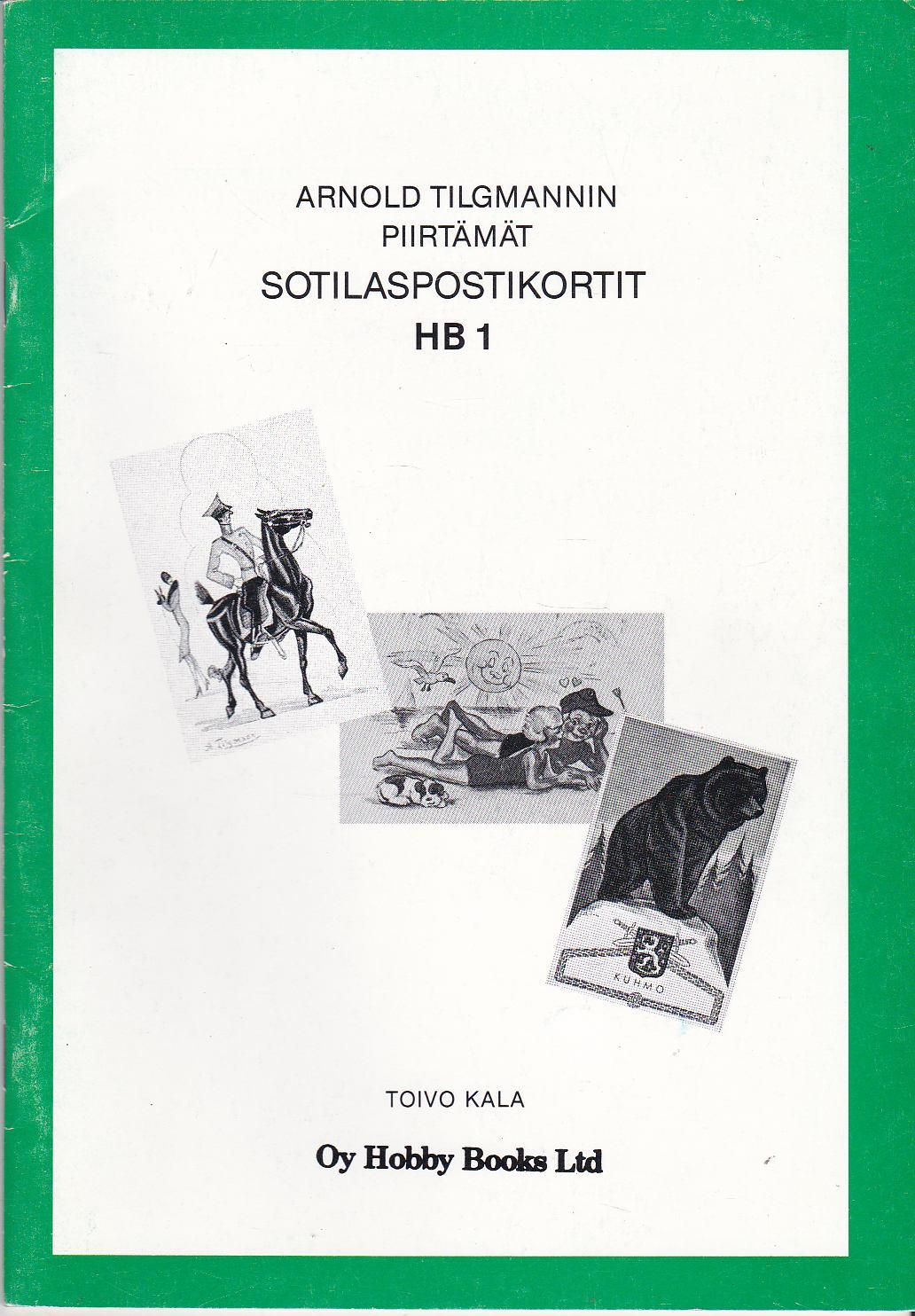 Arnold Tilgmannin piirtämät sotilaspostikortit HB1 - Kala Toivo tuotekuva