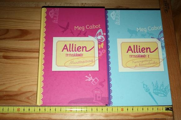 Allien tyttösäännöt - Muuttopäivä ja Tyttösäännöt 2 - Kuningattaria ja kiusanhenkiä - Cabot Meg tuotekuva