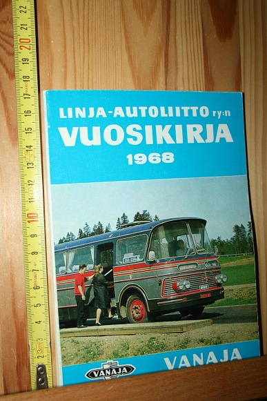 Linja-autoliitto ry:n vuosikirja 1967-1968 - Laakso Erkki (toim.) tuotekuva