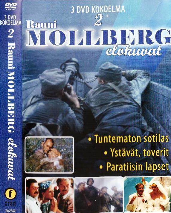 Rauni Molberg elokuvat - Tuntematon sotilas - Ystävät, toverit - Paratiisin lapset - Mollberg Rauni tuotekuva