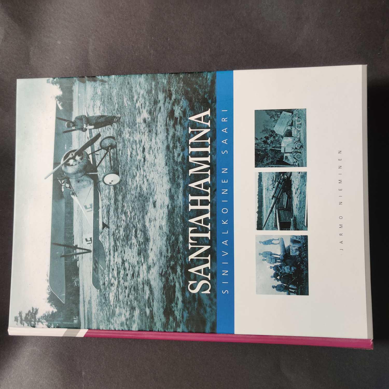 Santahamina sinivalkoinen saari - Nieminen Jarmo tuotekuva