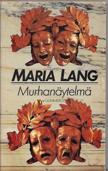 Murhanäytelmä - Lang Maria tuotekuva