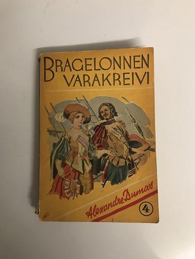Bragelonnen varakreivi 4 - Dumas, Alexandre tuotekuva