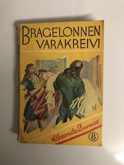 Bragelonnen varakreivi 8 - Dumas, Alexandre tuotekuva